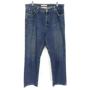 Tommy Hilfiger Boyfriend Size 14 Frayed Hem Jeans